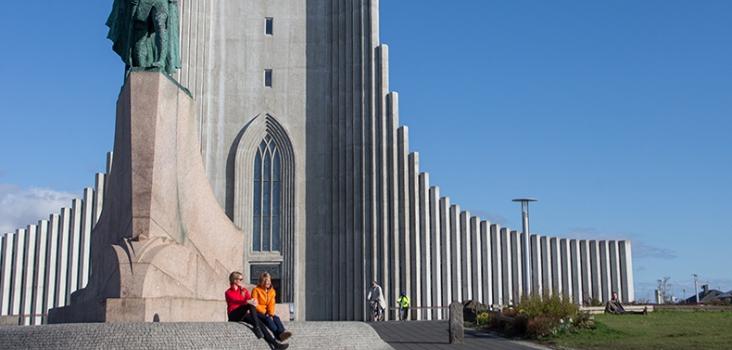 Hallgrimskyrkan Reykjavik.