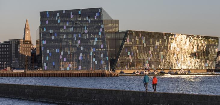 Harpa. Reykjavik. Island.